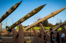 Iran công bố video về quá trình chuẩn bị cho vụ tấn công bằng tên lửa