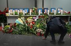 Người dân Ukraine tưởng nhớ các nạn nhân vụ rơi máy bay ở Iran