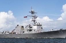 Tàu chiến Mỹ, Nga suýt xảy ra va chạm tại Biển Arab