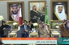 Thủ tướng Nhật Bản tìm kiếm sự hợp tác từ Saudi Arabia