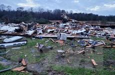 Mưa bão gây nhiều thiệt hại nghiêm trọng tại miền Nam nước Mỹ