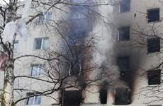 [Video] Hiện trường vụ nổ tại thủ đô Stockholm của Thụy Điển