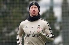 Các trụ cột của Real Madrid tập luyện hồi phục chấn thương