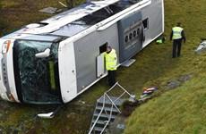 Đức: Xe buýt chở học sinh gặp tai nạn, 2 học sinh thiệt mạng