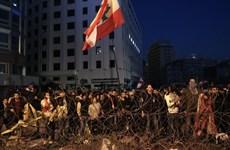 Lực lượng an ninh Liban trấn áp người biểu tình ở Beirut