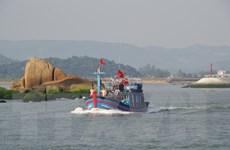Ngư dân làng chài Mỹ Á vững tin bám biển ngày khai chánh