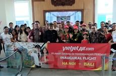 Vietjet Air khai trương đường bay thẳng Hà Nội - Bali