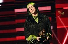 Billie Eilish 'đại thắng' tại lễ trao giải Grammy lần thứ 62