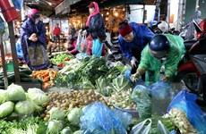 Chợ Phùng Khoang cung cấp gần 20 tấn thực phẩm sau Tết Nguyên đán