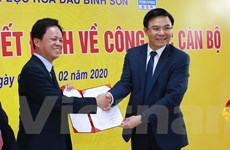 Công ty Lọc hóa dầu Bình Sơn tiến hành điều chỉnh về công tác cán bộ
