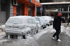 Bão tuyết hoành hành, gây thiệt hại tại nhiều khu vực ở châu Âu