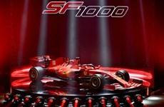 Chiêm ngưỡng 'siêu phẩm' SF1000 của đội đua F1 Ferrari