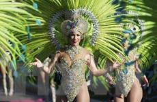 Pháp: Rực rỡ sắc màu trong lễ hội hóa trang Carnival ở Nice