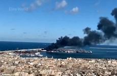 Libya: Lực lượng LNA tấn công cảng biển ở thủ đô Tripoli