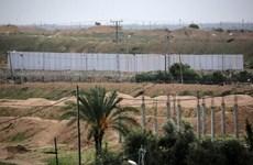 Ai Cập bắt đầu xây tường biên giới ở khu vực giáp ranh Dải Gaza