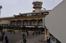 [Video] Sân bay Aleppo tại Syria mở cửa trở lại sau 8 năm