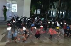 Đồng Nai: Tạm giữ hàng chục đối tượng đua xe, cổ vũ đua xe trái phép