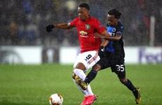 Hòa Club Brugge, Manchester United giành ưu thế trước trận lượt về