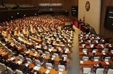 Quốc hội Hàn Quốc tạm thời đóng cửa để tiến hành phòng dịch COVID-19