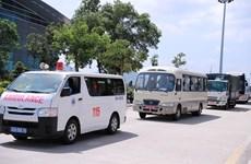 Đà Nẵng đưa đoàn du khách Hàn Quốc bị cách ly về nước