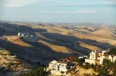 Israel thúc đẩy dự án xây dựng 3.500 căn nhà tại khu Bờ Tây
