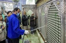 Iran tăng cường khử trùng các thánh đường Hồi giáo do dịch COVID-19