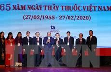 Thủ tướng Nguyễn Xuân Phúc dự lễ kỷ niệm ngày Thầy thuốc Việt Nam
