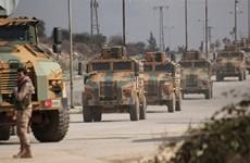 Hàng chục binh sỹ Thổ Nhĩ Kỳ thiệt mạng do bị không kích tại Syria