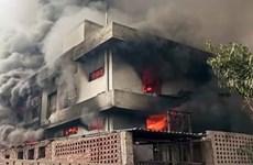 Nổ nhà máy hóa chất ở Ấn Độ, hàng chục người thương vong