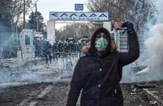 """Hy Lạp gồng mình trước một """"cơn bão"""" người tị nạn mới"""