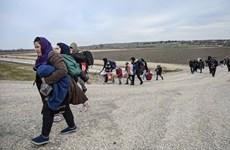 Thổ Nhĩ Kỳ kêu gọi sự ủng hộ từ châu Âu trong vấn đề tị nạn Syria