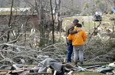 Mỹ: Lốc xoáy tràn qua bang Tennessee khiến hàng chục người thiệt mạng