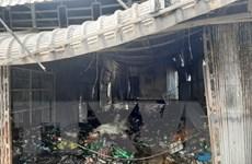 An Giang: Hỏa hoạn thiêu rụi 6 căn nhà ở huyện An Phú