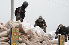 Afghanistan bắt giữ phiến quân chở 10 tấn thuốc nổ từ Pakistan
