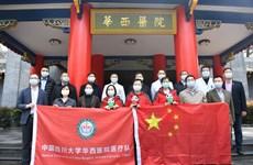 Trung Quốc cử chuyên gia giúp Campuchia phòng chống dịch COVID-19