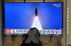 Hàn Quốc, Nhật Bản chỉ trích vụ phóng thử vũ khí mới của Triều Tiên