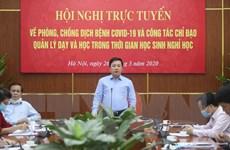 Hà Nội: Đề nghị giữ nguyên phương án tuyển sinh lớp 10 với 4 môn thi