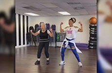 Cụ bà 92 tuổi dẻo dai với những bước nhảy Zumba sôi động
