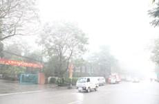 Bắc Bộ có sương mù về đêm và sáng, nhiệt độ tăng dần