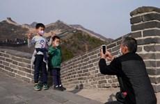 Người dân Trung Quốc bắt đầu đi du lịch sau mùa dịch bệnh
