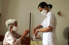 Đà Nẵng: Các lão thành cách mạng chung tay chống dịch COVID-19