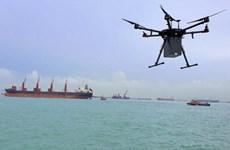Singapore bắt đầu khai thác dịch vụ chuyển hàng bằng drone