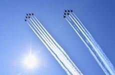 Mỹ: Máy bay chiến đấu biểu diễn tri ân các nhân viên y tế
