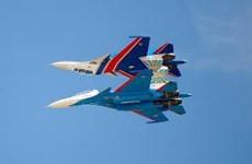 Không quân Nga tập luyện chuẩn bị cho lễ kỷ niệm Ngày chiến thắng