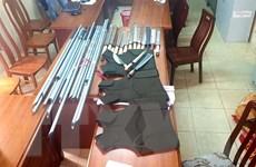 Phát hiện kho vũ khí tại một tiệm cầm đồ ở TP. Hồ Chí Minh