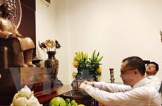 Lễ dâng hương viếng Chủ tịch Hồ Chí Minh tại Campuchia