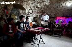 Tham quan viện bảo tàng đặc biệt trong hầm tránh bom ở Syria