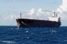 Hình ảnh tàu chở dầu Iran vượt sóng dữ để đến Venezuela
