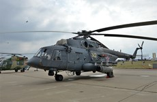 Nga: Trực thăng quân sự va chạm mạnh khi hạ cánh, có người thiệt mạng
