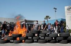Công nhân Nissan biểu tình phản đối đóng cửa nhà máy ở Catalonia